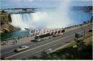 Moderne Karte Canada Ontario Niagara Falls Les chutes du Fer a cheval