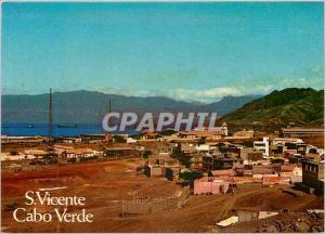 Moderne Karte S Vicente Cabo Verde