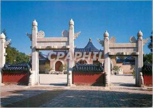 Moderne Karte China Robing Terrace Gate Temple of Heaven