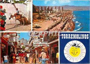 Moderne Karte Torremolinos (costa del sol) Diverses vues