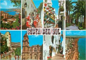 Moderne Karte Costa Del Sol Vues Diverses