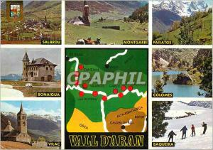 Moderne Karte Pirineu catala Vall d'Aran Beaux Paysages