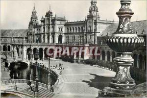 Moderne Karte Sevilla Place de l'Espagne