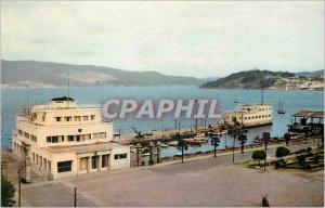 Moderne Karte Vigo Royal Club Nautique