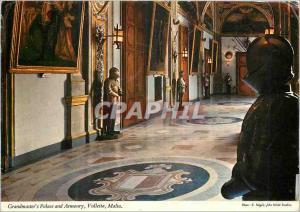 Moderne Karte Grandmasters Palace and Armoury Valletta Malta Militaria
