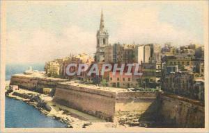 Moderne Karte Malta Marsamuscetto Landing Place Valletta