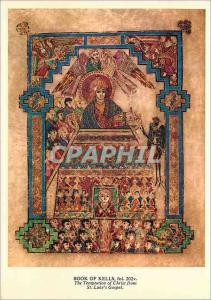 Moderne Karte The Book of Kells is a beautifully illuminated manuscript of the four Gospels