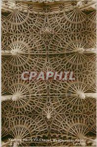 Moderne Karte Vaulting Henry VII Chapel Westminster Abbey