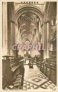 Moderne Karte Oxford Christ Church Cathedral