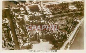 Moderne Karte Air view Hampton Court Palace