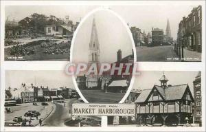 Moderne Karte Greetings from Market Harborough
