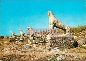 Moderne Karte Delos Lions Archaigues