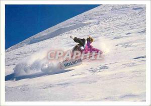 Moderne Karte Ski Surf