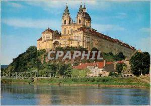 Moderne Karte Benediktinerstift Melk a d Donau Wachau