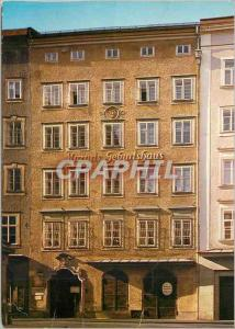 Moderne Karte Salzbourg the City of Mozart Mozart's Birthplace