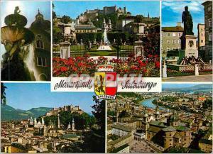 Ansichtskarte AK Mozartstadt Salzburg austria Salzburg the City of Mozart