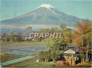 Moderne Karte Mt Fuji Mid Spring