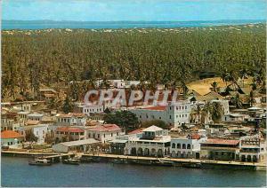 Moderne Karte Lamu (Aerial View)