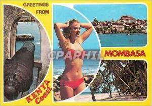 Moderne Karte Kenya Coast Series Mombasa