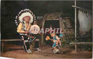 Moderne Karte Youngest contest Dancer stand Rock Indian Ceremonial Wisconsin Dells