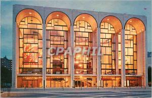 Moderne Karte Lincoln Center For Performing Arts Metropolitan Opera House New York City