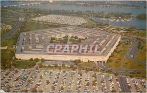 Moderne Karte The Pentagon Headquarters for US Defense Department is located in Arlington Virginia  Militaria