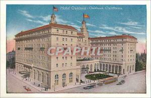 Moderne Karte Hotel Oakland California Shipbuilding on the Estuary Oakland California