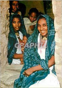 Moderne Karte Northern Ethiopia Family in Hauzien Valley Village