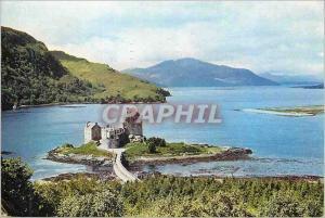 Moderne Karte Eilean Donan Castle Loch Duich Wester Ross