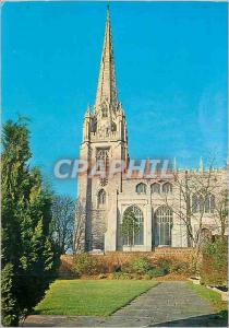 Moderne Karte Parish Church of St Mary the VIrgin Saffron Walden Essex