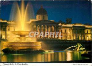Moderne Karte National Gallery By Night London