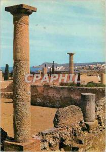 Moderne Karte Costa Brava Ampurias Ruinas Romanas