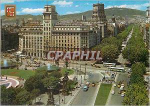 Moderne Karte Barcelona Barcelona Place de Cataluna Promenade de Gracia