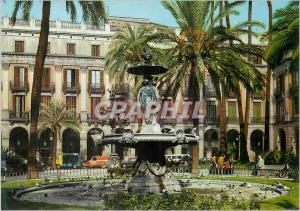Moderne Karte Barcelona Barcelona Plaza Real