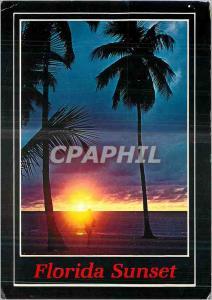 Moderne Karte Florida Sunset