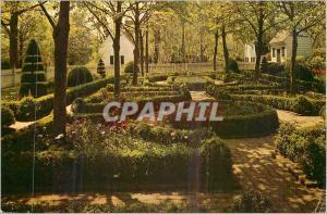 Moderne Karte A Formal Garden Williamsburg Virginia