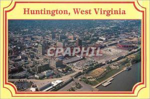 Moderne Karte Huntington West Virginia