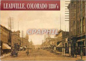 Moderne Karte Leadville Colorado 1880's