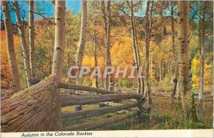 Moderne Karte Autumn in the Colorado Rockies