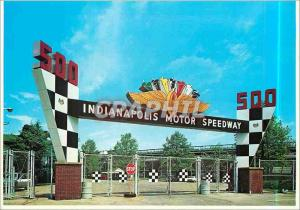 Moderne Karte Main Gate Indianapolis Motor Speedway Automobile