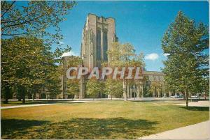 Moderne Karte Payne Whitney Gymnasium Yale University New Haven Conn