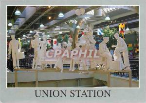 Moderne Karte Union Station The Railroad era Lives on in Life Size Figures throughout the Massive Indianapolis