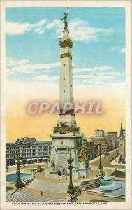 Ansichtskarte AK Soldiers and Sailors Monument Indianapolis Ind