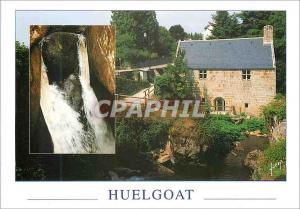 Moderne Karte Couleurs et Lumiere de France Huelgoat (Finistere) Le Gouffre et le Moulin du Chaos