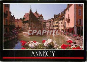 Moderne Karte Annecy (haute Savoie France) Les Quais de la Vieille Ville les Vieilles Prisons
