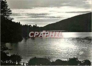 Moderne Karte Gerardmer Coucher du Soleil sur le Lac
