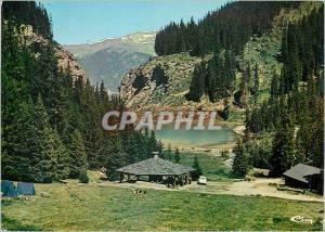 Moderne Karte Courchevel (Savoie) echappee sur le grill et le lac des rosieres