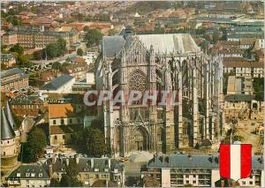Moderne Karte Beauvais (Oise) La Cathedrale St Pierre