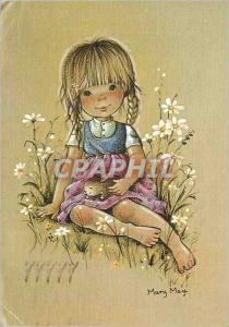 Moderne Karte Marry may Lapin
