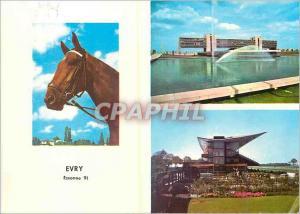 Moderne Karte Evry essonne images de france la prefecture le champ de courses Cheval
